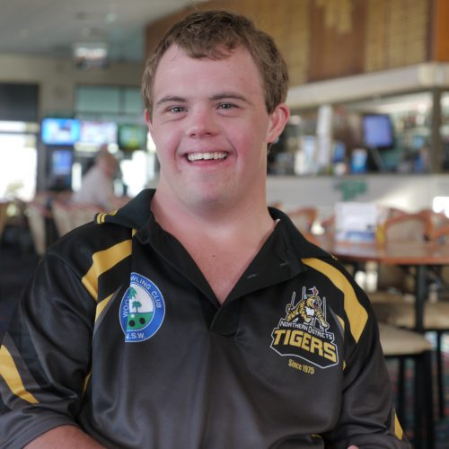 Brenton young person with disability